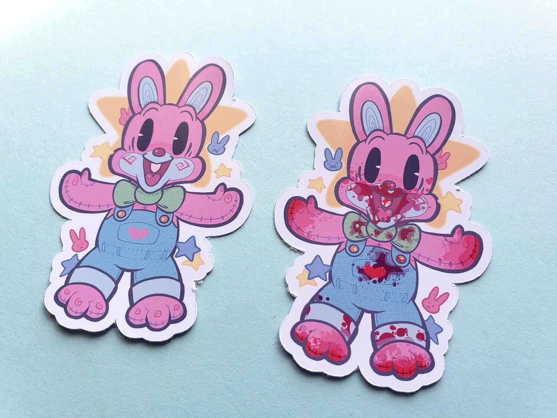 Robbie Rabbit Sticker Sets