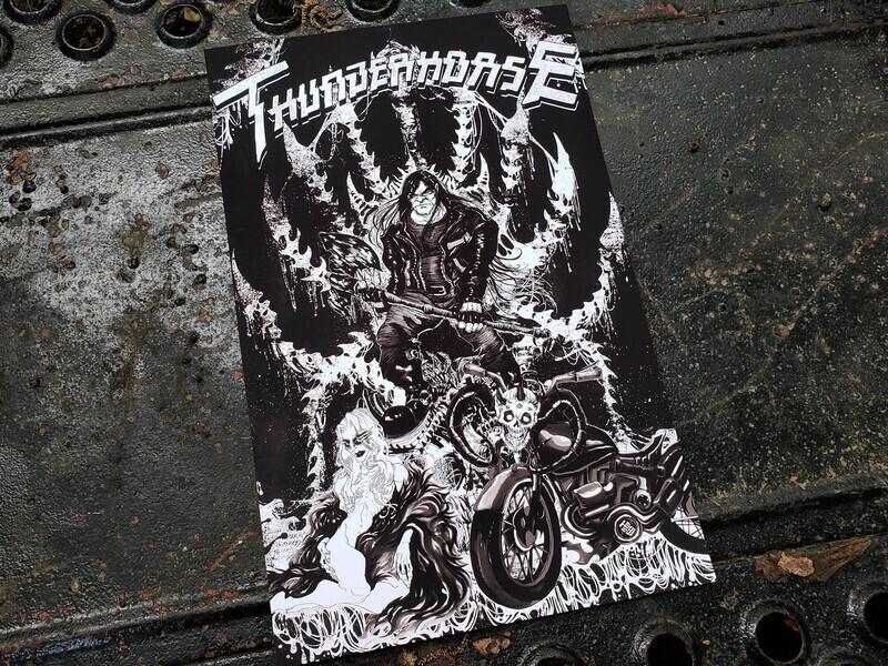 dethklok THUNDERHORSE print (11x17)