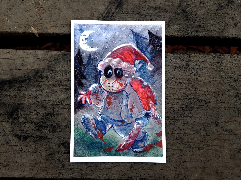 Watercolor Christmas Card Prints!