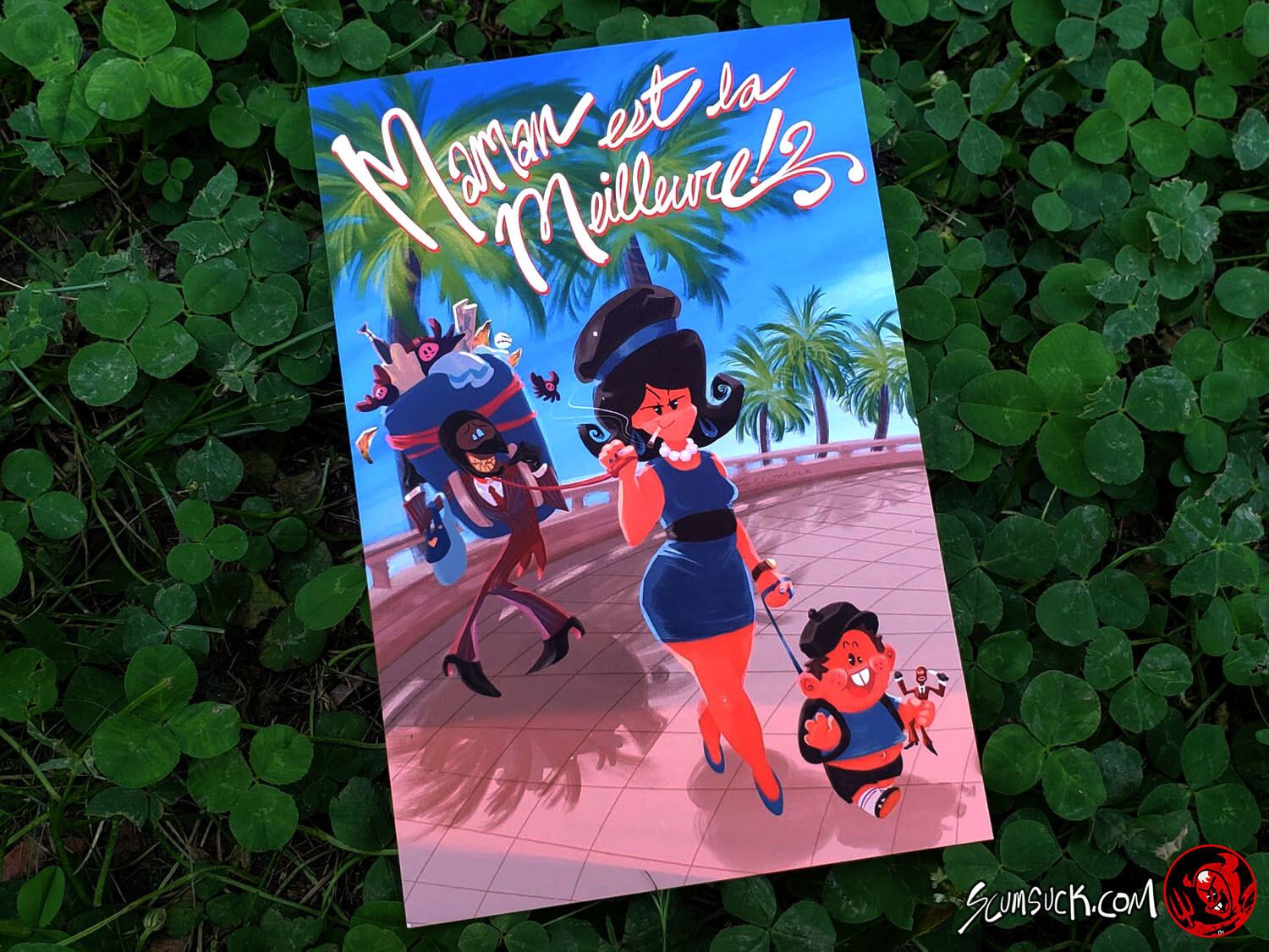 TF2 Mother's Day Card (4x6) (8x10)
