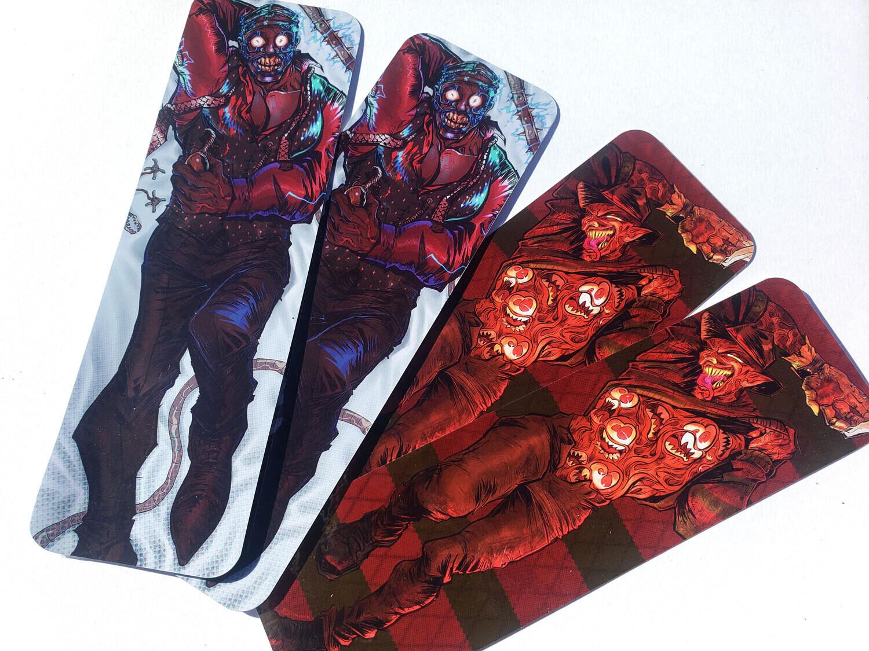 Doctor n' Freddy Krueger Dakimakura Bookmarks