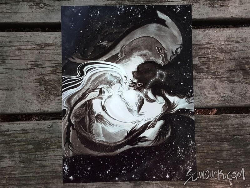 Pisces Print (4x6) (8x10)