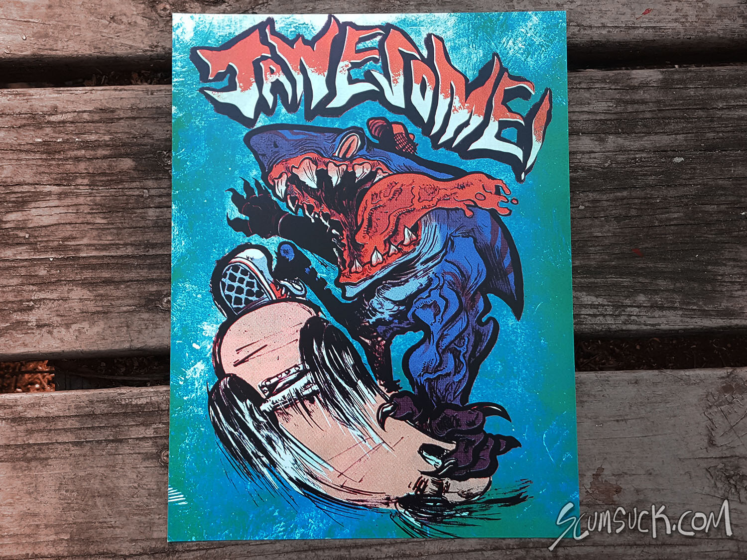 JAWESOME print (8x10)