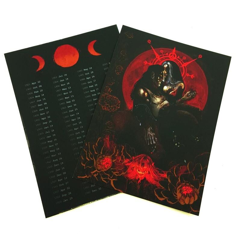 Blood Moon Postcard (5x7)