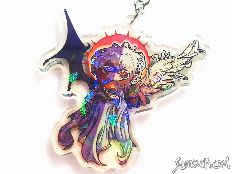 "YGO Bakura Change of Heart 2.5"" Charm"