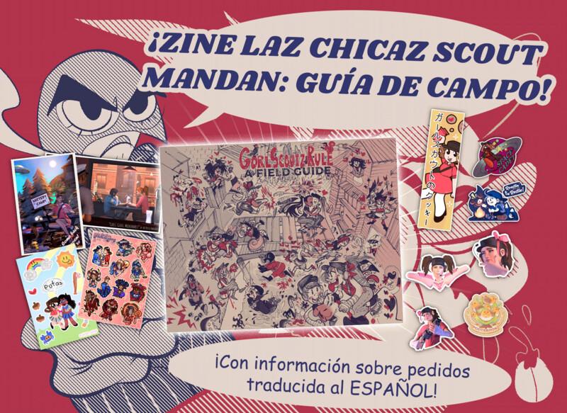 ZINE LAZ CHICAZ SCOUT MANDAN: GUÍA DE CAMPO