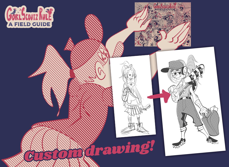 GORL SCOUTZ Dynamic Drawing Bundle!!!