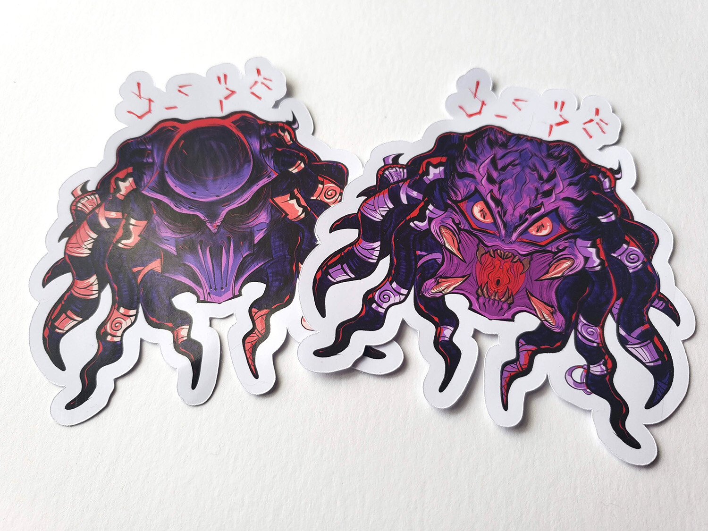 Predator Yautja Sticker Set