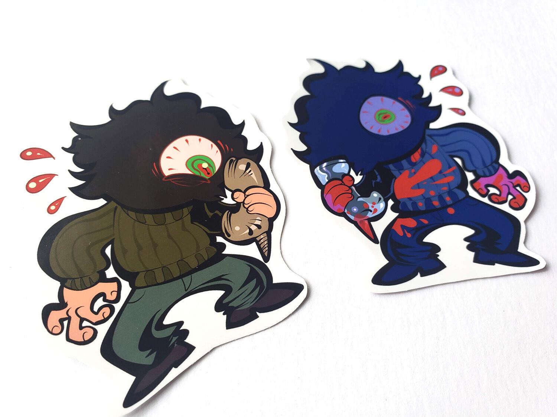 Billy Lenz Sticker Set