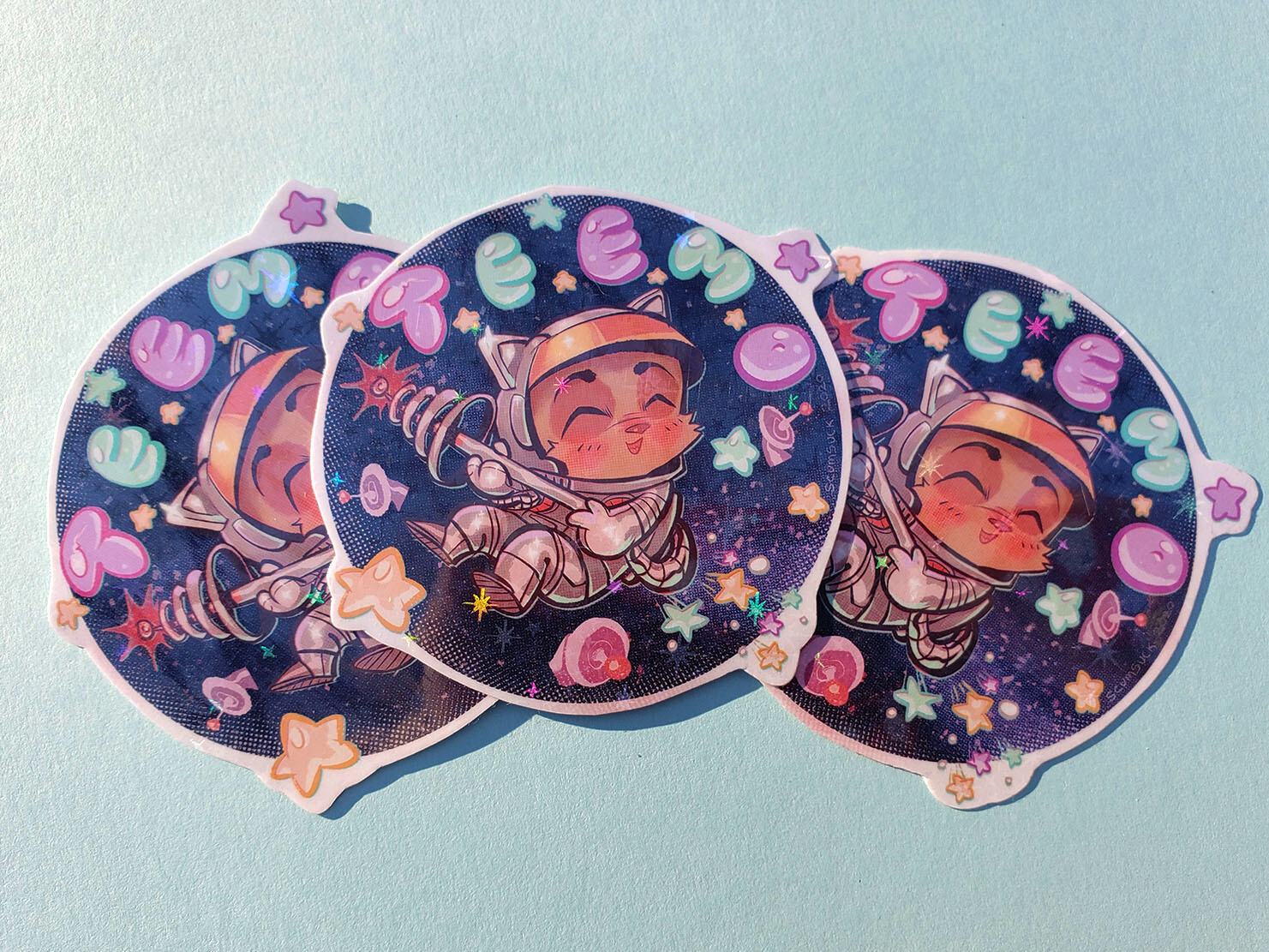 Space Teemo stickers!