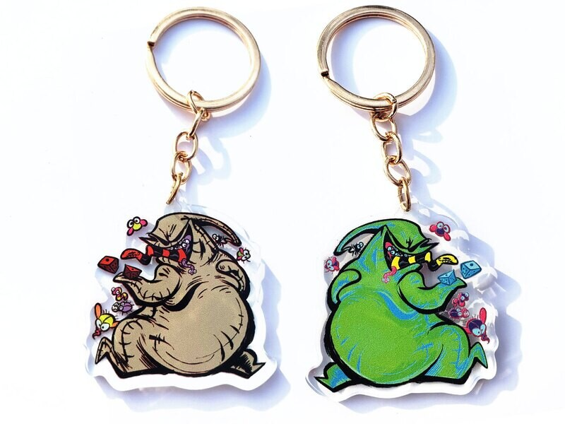 """Boogie Charm + Stickers (2"""")"""