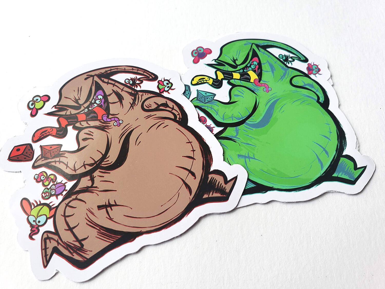 Boogie Sticker Set