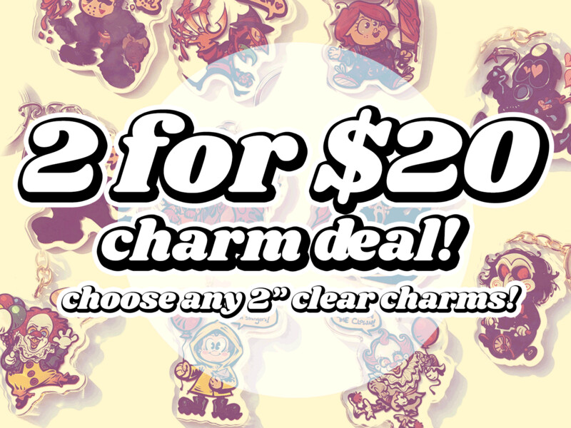 Mix n' Match! 2 charms for $20