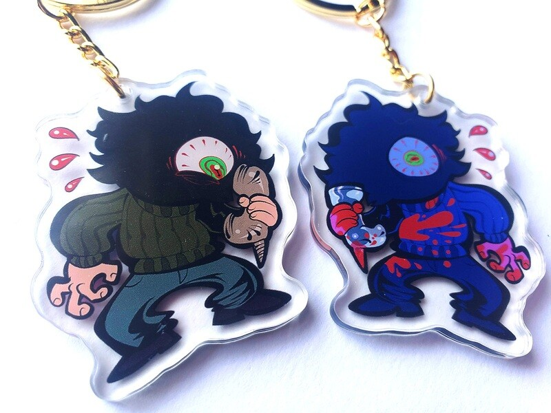 """Billy Lenz (The Moaner) 2"""" acrylic charms!"""