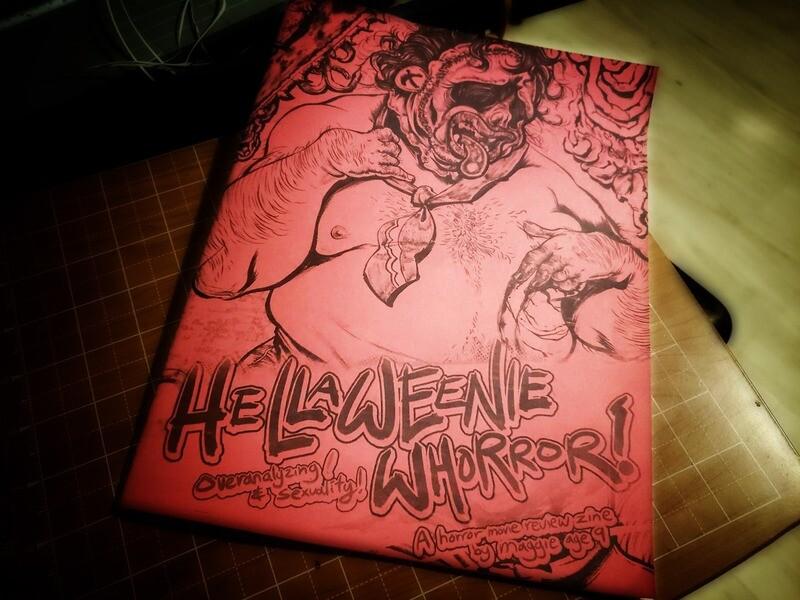 HALLOWEENIE WHORROR: queer horror review zine