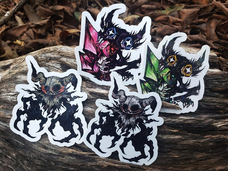 Goblin and Mimic stickers