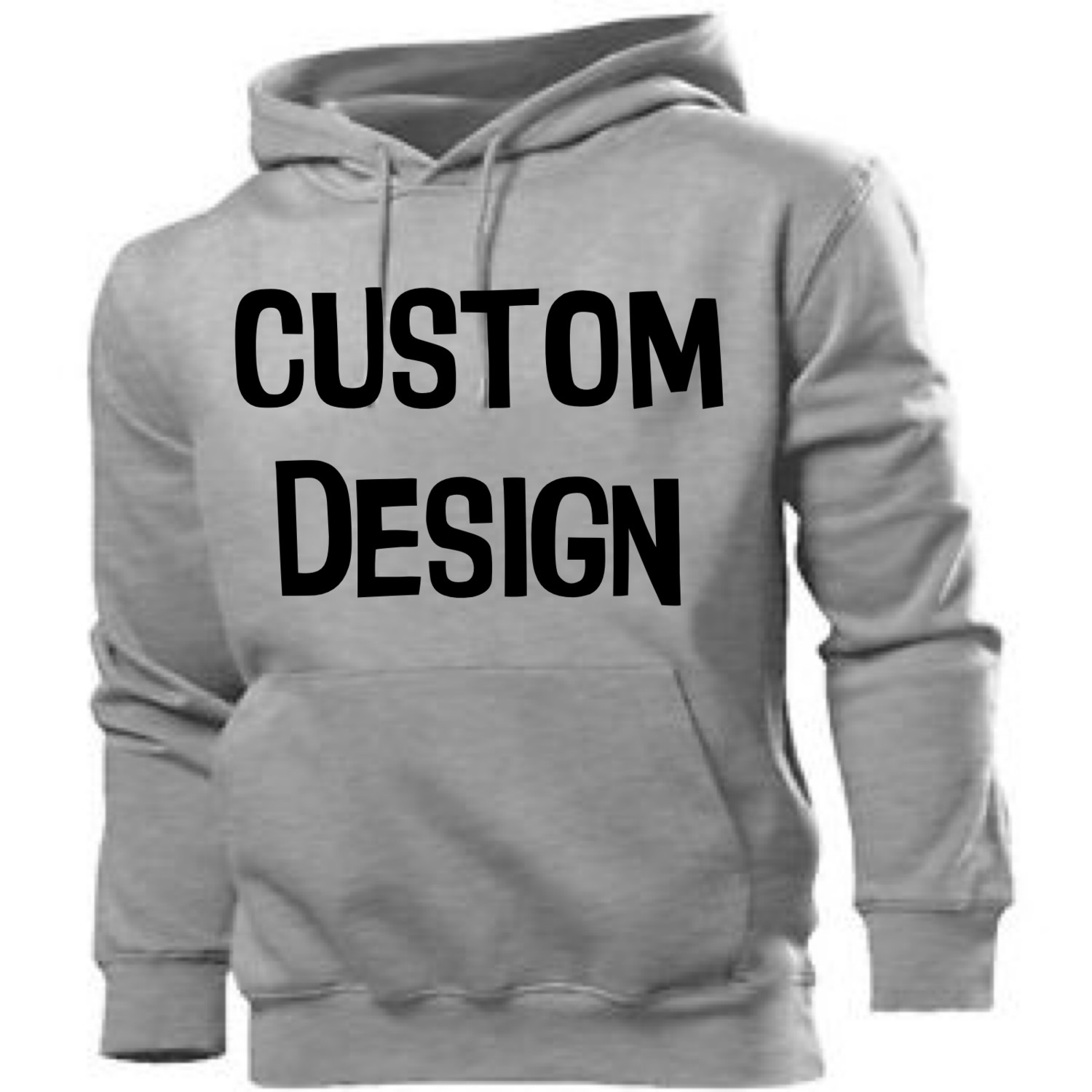 Adults - Any Design Pull Over Hoodie