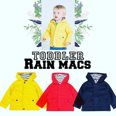 Toddler Rain Mac