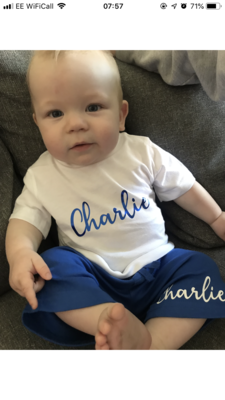 Signature Name T-shirt (kids)