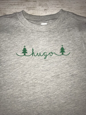 Christmas Name T-shirt