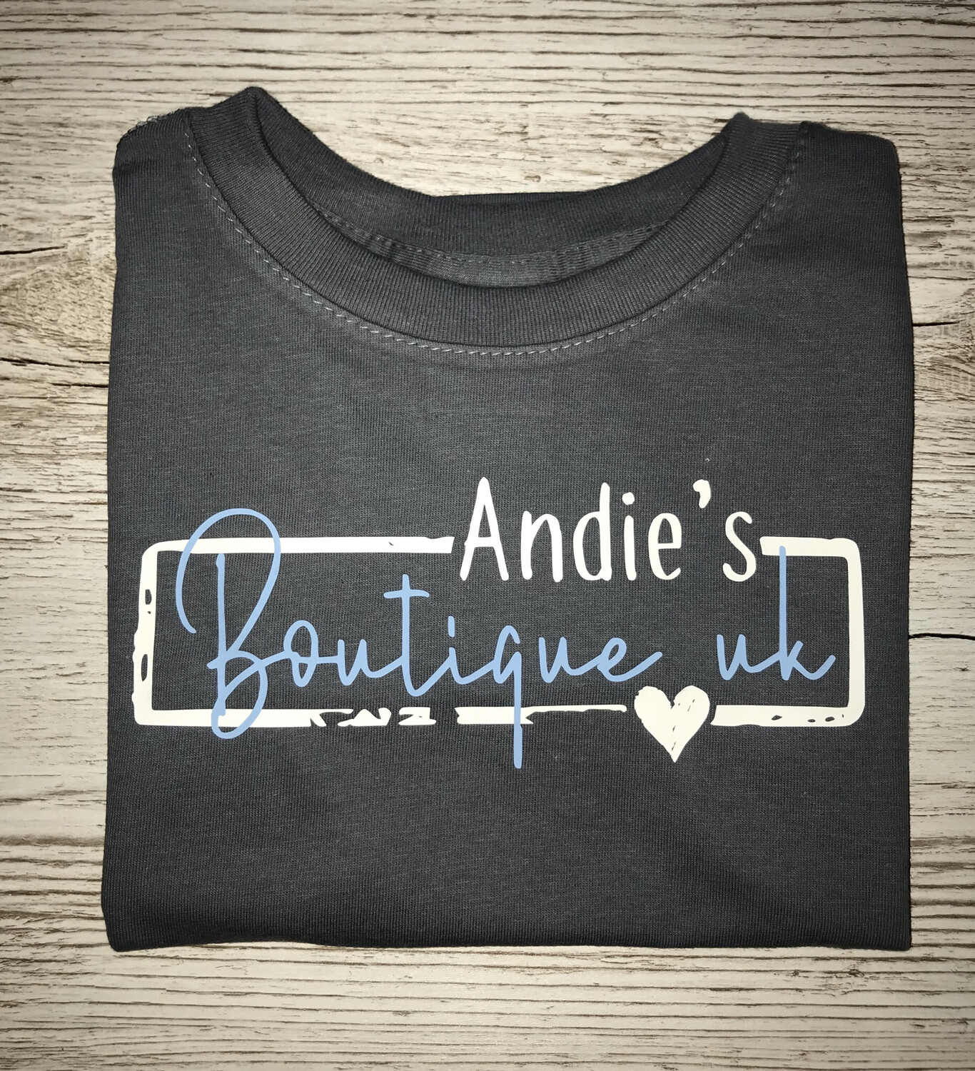 Andie's Boutique Uk Logo Tee