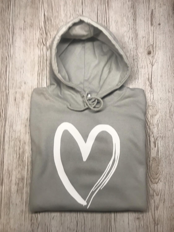 Adults - Heart Sweatshirt/hoodie/snoodie