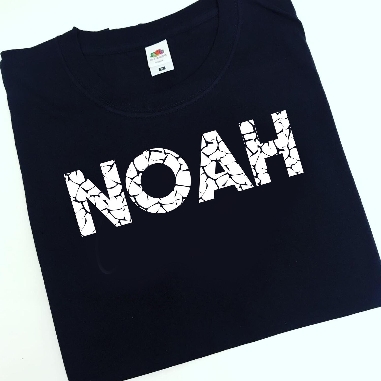 Name crackle T-shirt