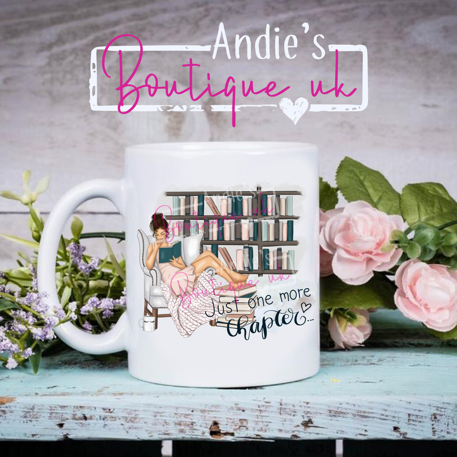 Just One More Chapter Mug