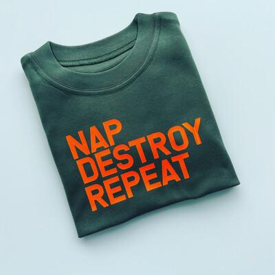 Nap Destroy Repeat