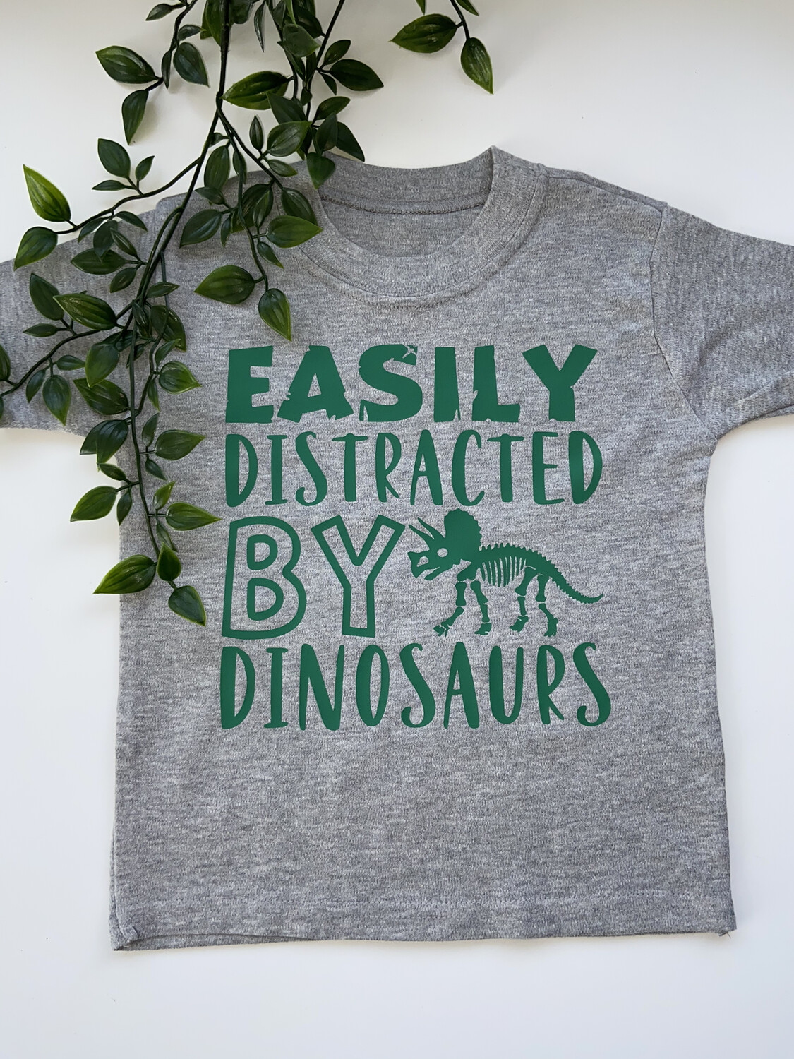 Easily Distracted By Dinosaurs T-shirt