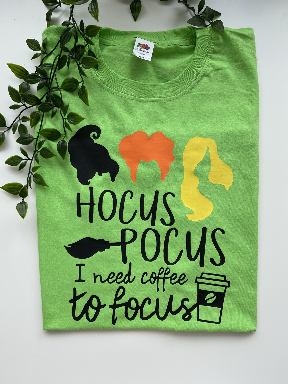 Hocus Pocus Need Coffee Tee