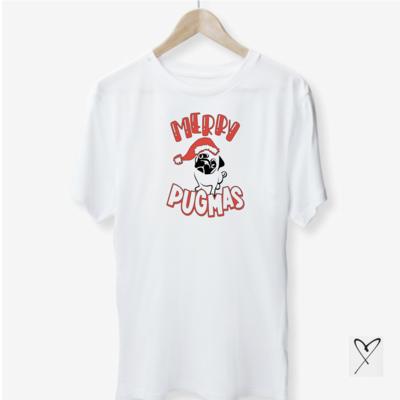 Merry Pugmas Tshirt