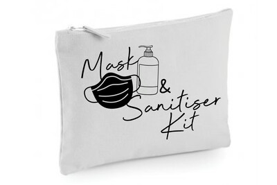 Mask & Sanitiser Bag