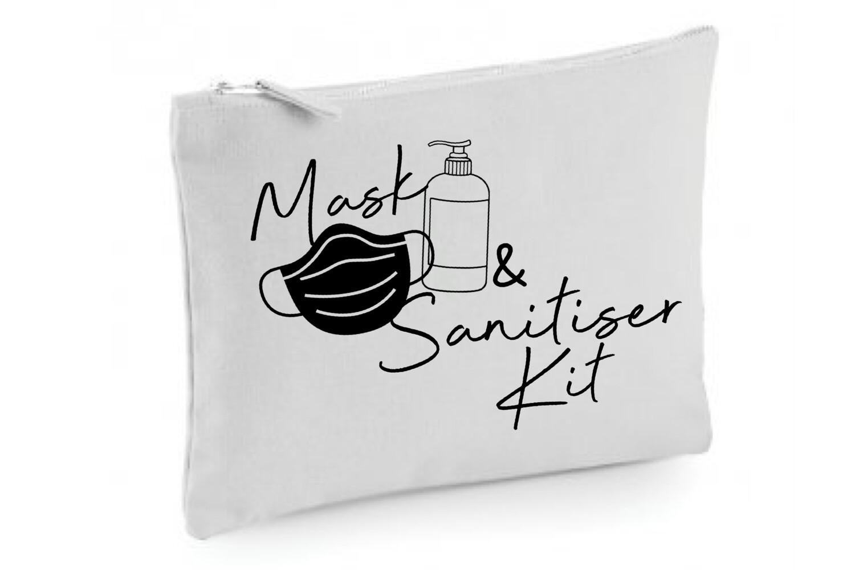 Mask & Sanitiser Bag
