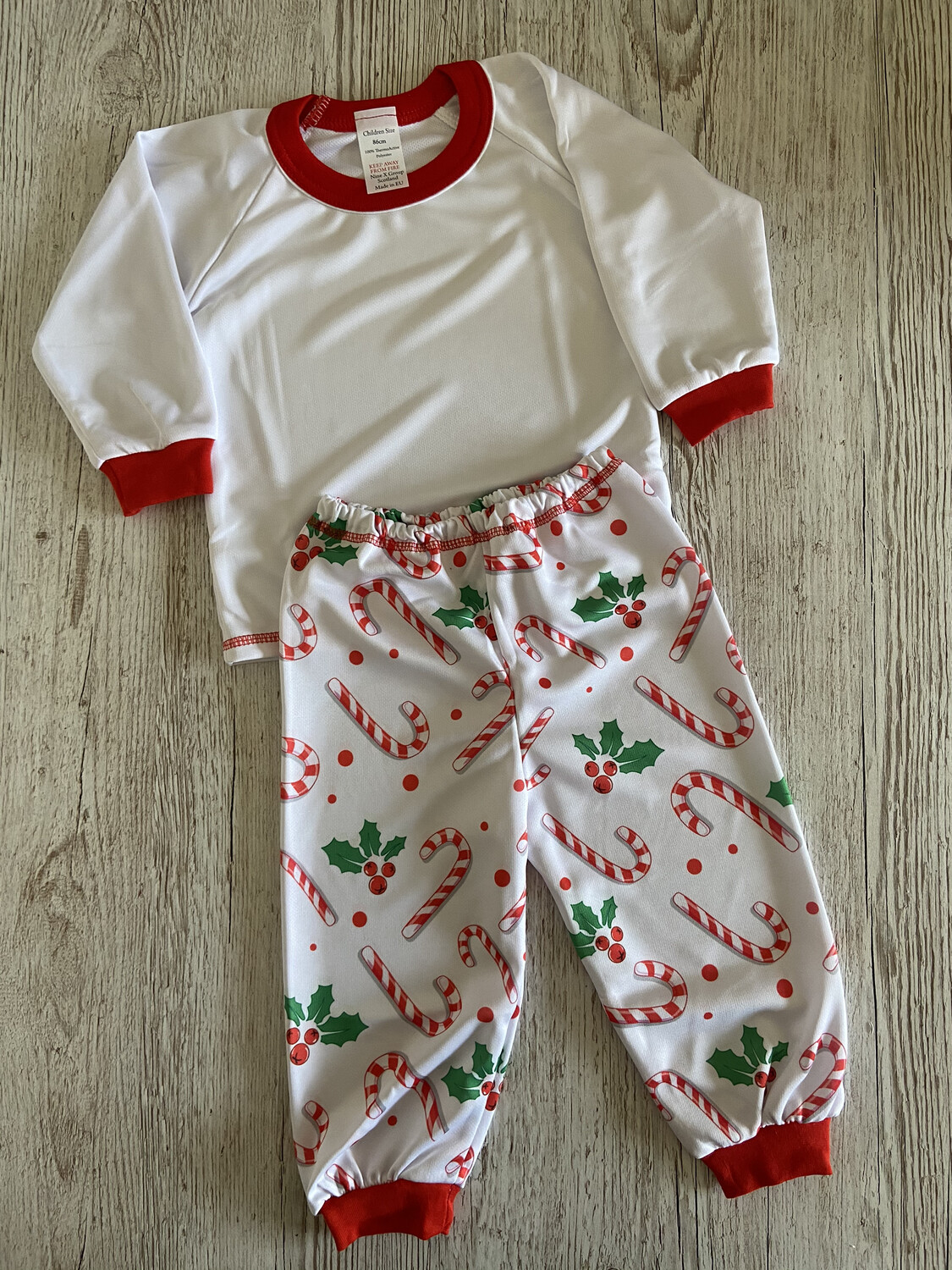 Candy Cane Christmas Pjs