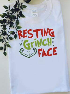 Resting Grinch Face Tshirt