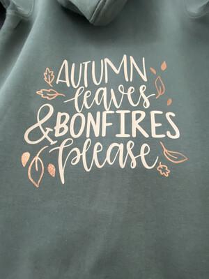 Adults - Autumn Leaves Sweater/hoodie/snoodie