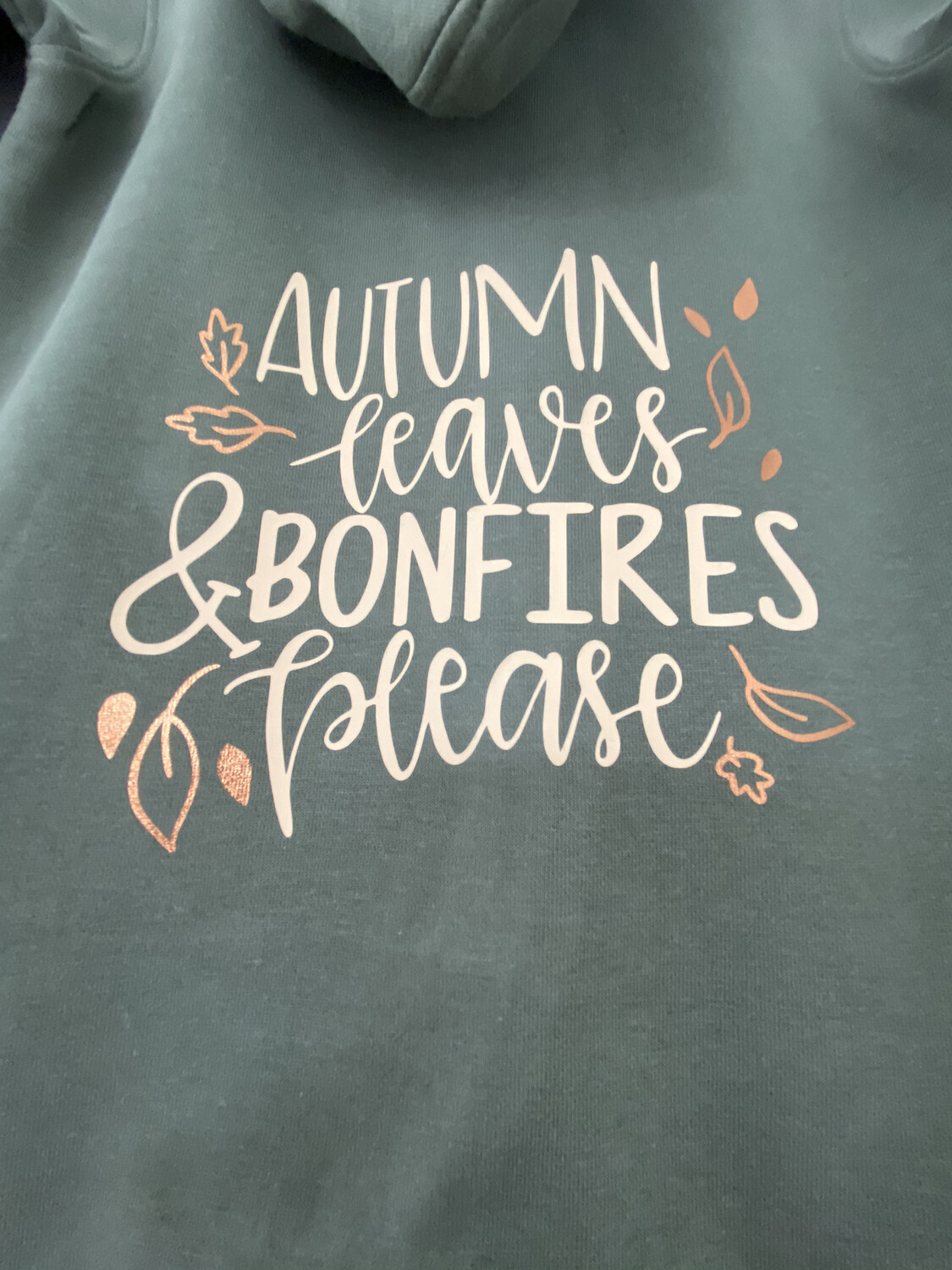 Adults - Autumn Leaves Sweater/hoodie/snoodie