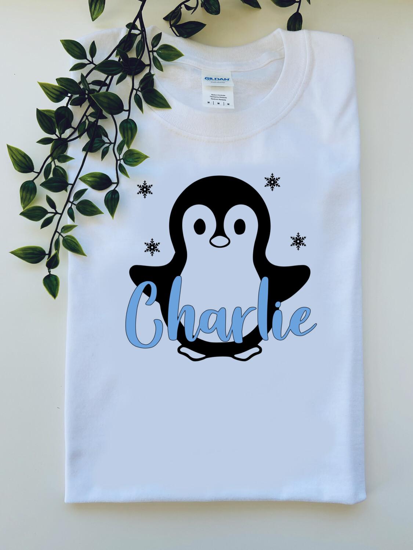 Penguin Name Tee