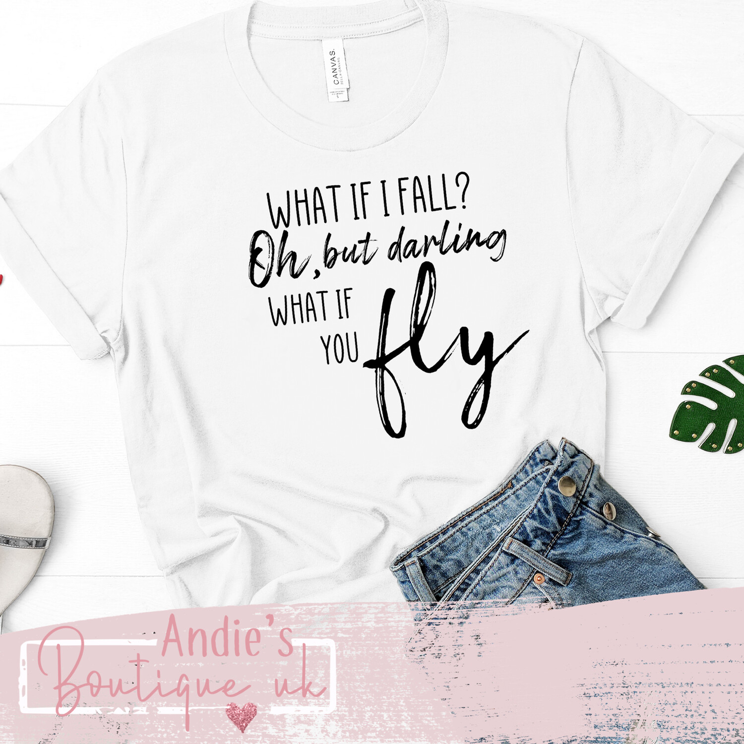 What If You Fly Tee