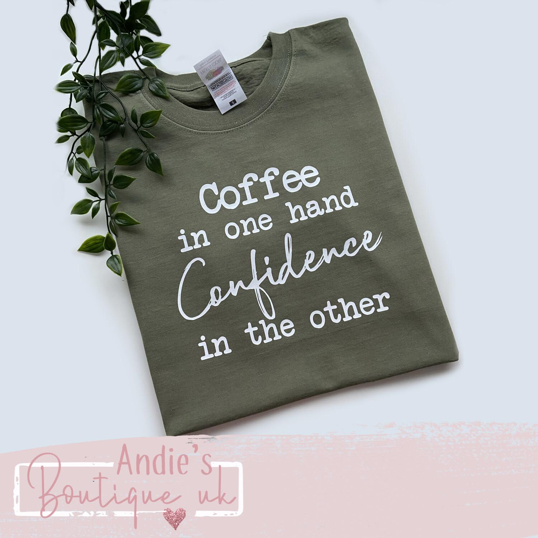 Coffee In One Hand Tee