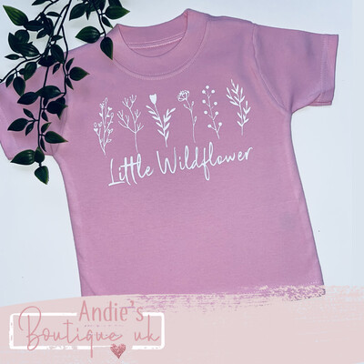 Little Wildflower Tee