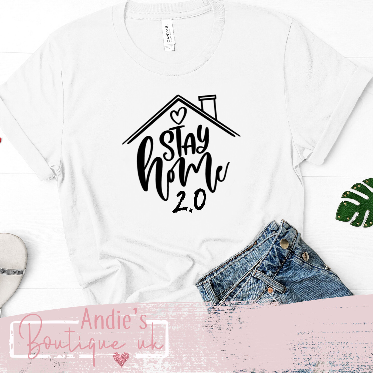 Stay At Home 2.0 T-shirt