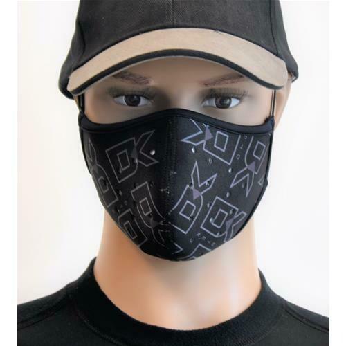Nasen-Mund-Schutz mit Austauschbarem Filter Grösse L