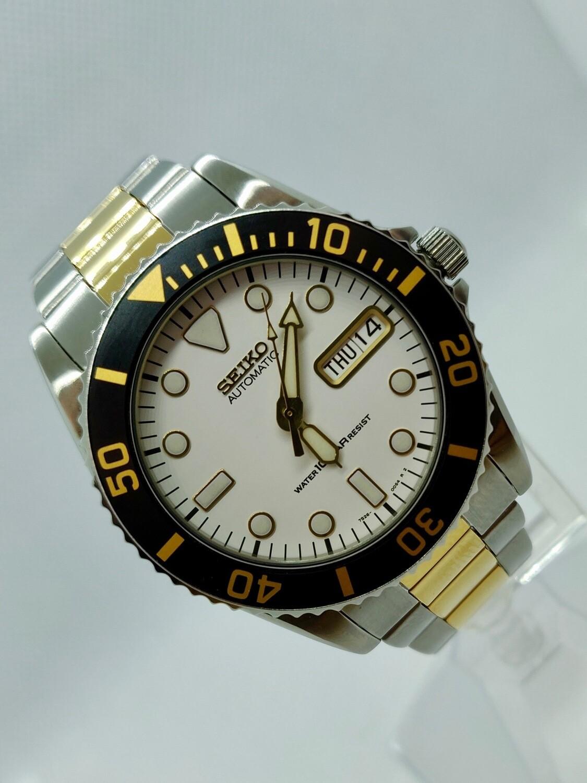 Rare Seiko SKX027K2 7s26-0050 Mid Size Diver