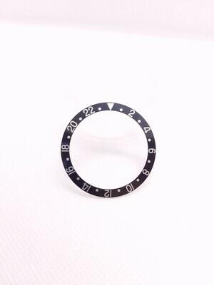 Rolex GMT Master II Black Bezel Inlay Insert - Genuine Rolex