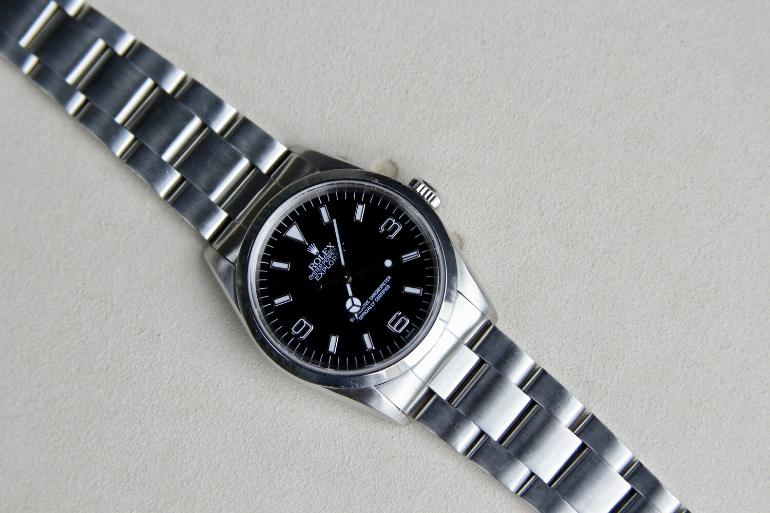Rolex Explorer 14270 - 'SWISS' Only Dial