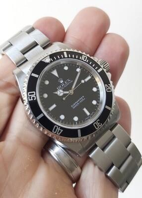 Rolex Submariner 14060m 'Serif Fat 4' Bezel