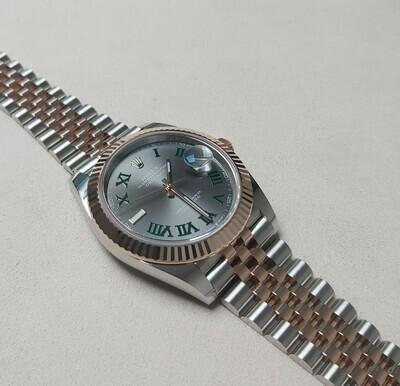 Rolex Datejust 41 126331 Wimbledon Dial