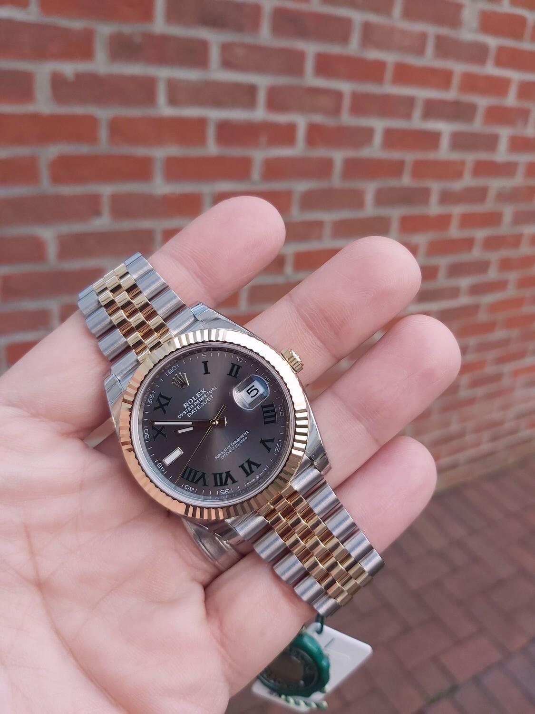 Rolex Datejust 41mm 126333 Steel & Gold Wimbledon Dial - Unworn Fully stickered